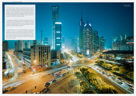 Annual report for Linde Group gallery