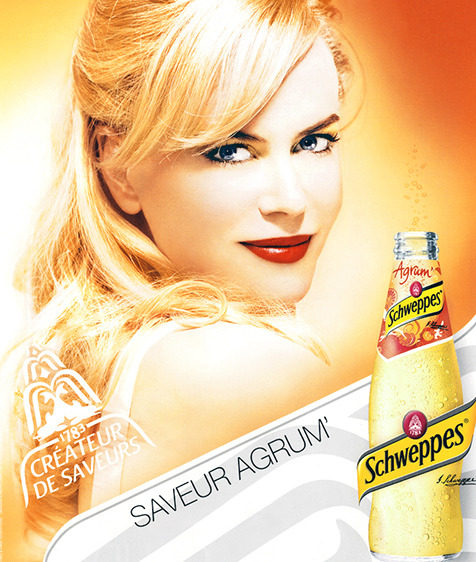 Nicole Kidman for Schweppes gallery