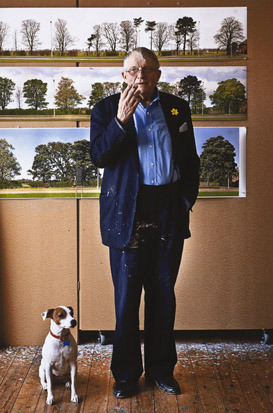 Hockney and Ruby by Jonathan Root, 2010 gallery
