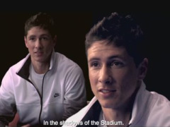 Title: Fernando Torres for this testimonial TVC gallery