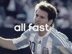 Client: ADIDAS - Leo Messi in action with his new adizero f50 boots gallery