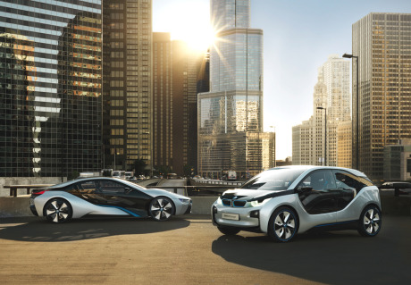 Client: BMW i8 + i3 gallery