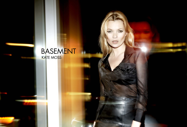 Campaign:  Basement Kate Moss 2011 gallery