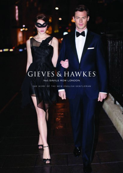 Client: Gieves and Hawkes gallery