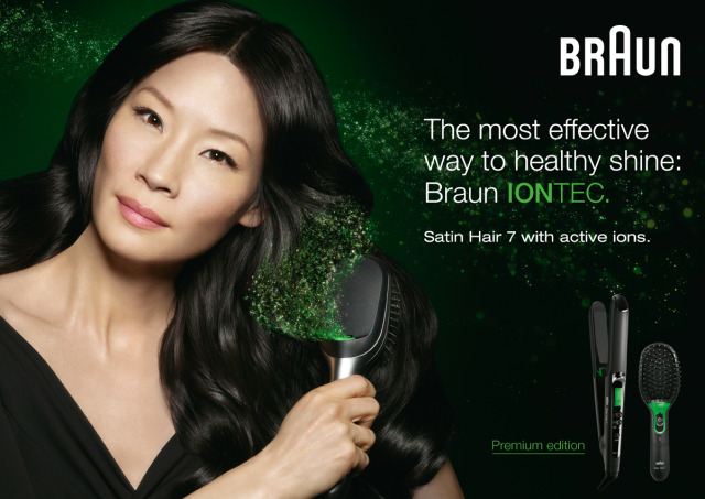 Actress Lucy Lui photographed by David Byun for Braun gallery