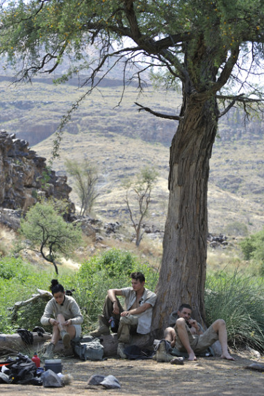 Production: TV Shooting 'Home Run' in Namibia for Channel SAT 1 gallery