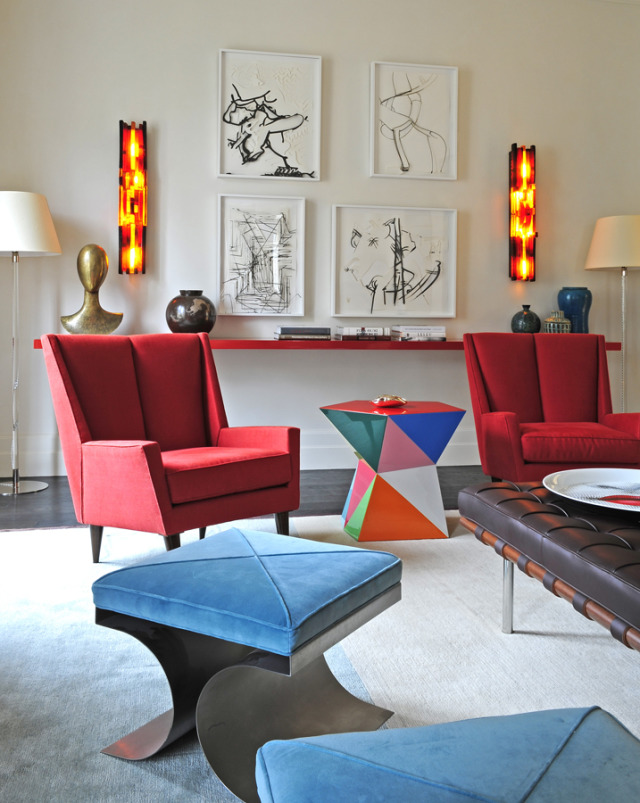 Title: Apartment in Paris. Interior Design by Caroline Sarkozy gallery