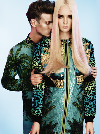 Rodeo Advertorial H&M/Versace by Tobias Lundkvist gallery