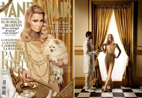 Model: Paris Hilton for Vanity Fair gallery