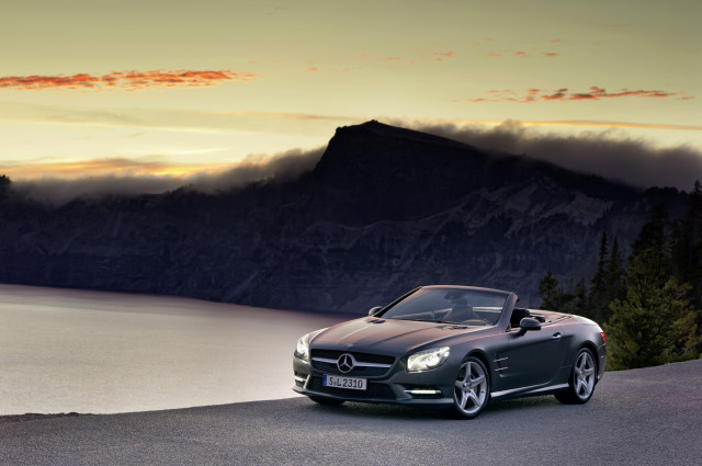 Title: Mercedes SL gallery