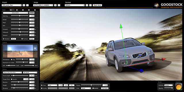 The FPO Workflow for automotive CGI  gallery
