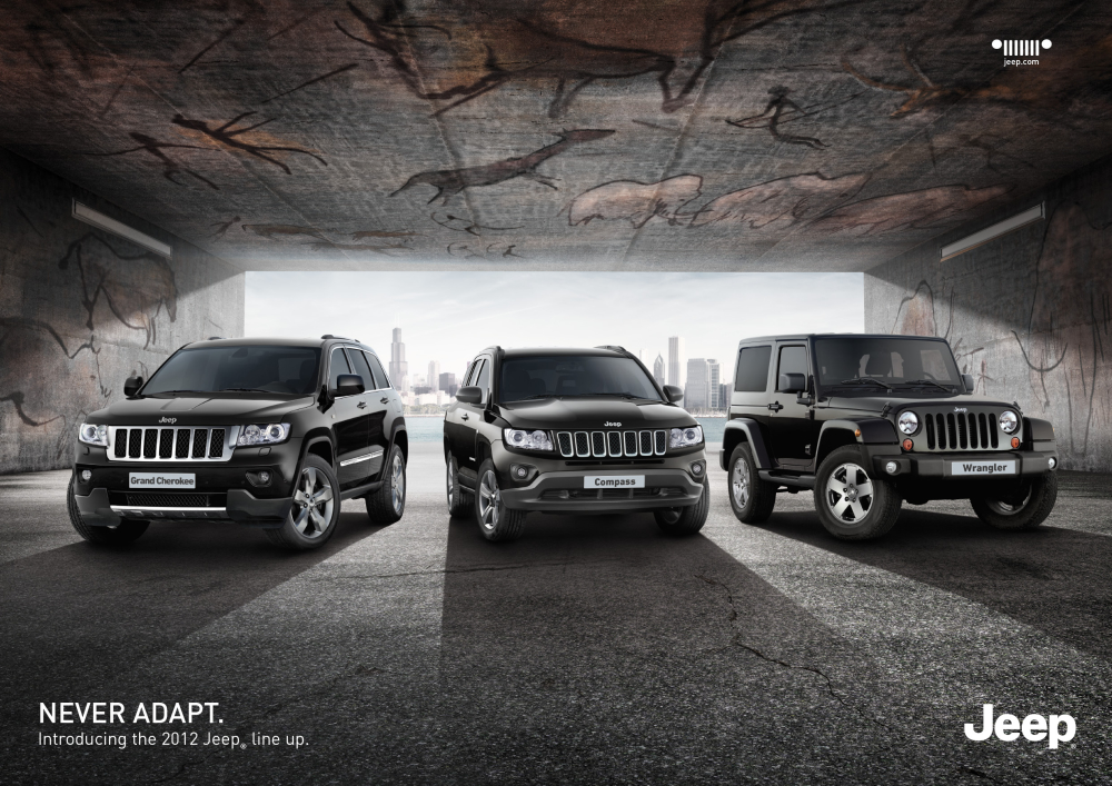 Chrysler Jeep: Never Adapt, 1Jee…