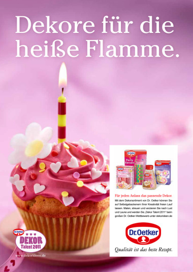 Client: Dr. Oetker gallery