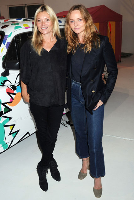 Kate Moss and Stella McCartney at Stella's SS12 Kids Collection Launch Preview gallery