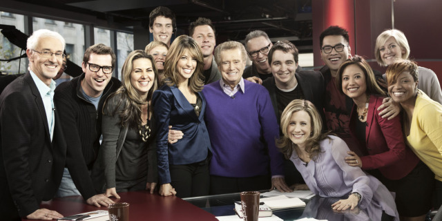 Regis Philbin . The Morning Show, Shaw Media gallery