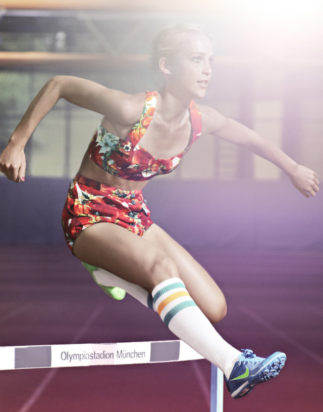 Nike Olympic Athlets gallery