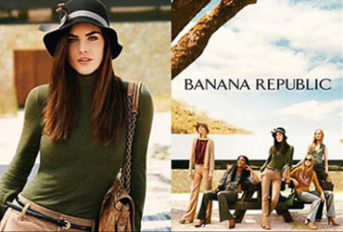 Photo: Peter Lindbergh for Banana Republic gallery
