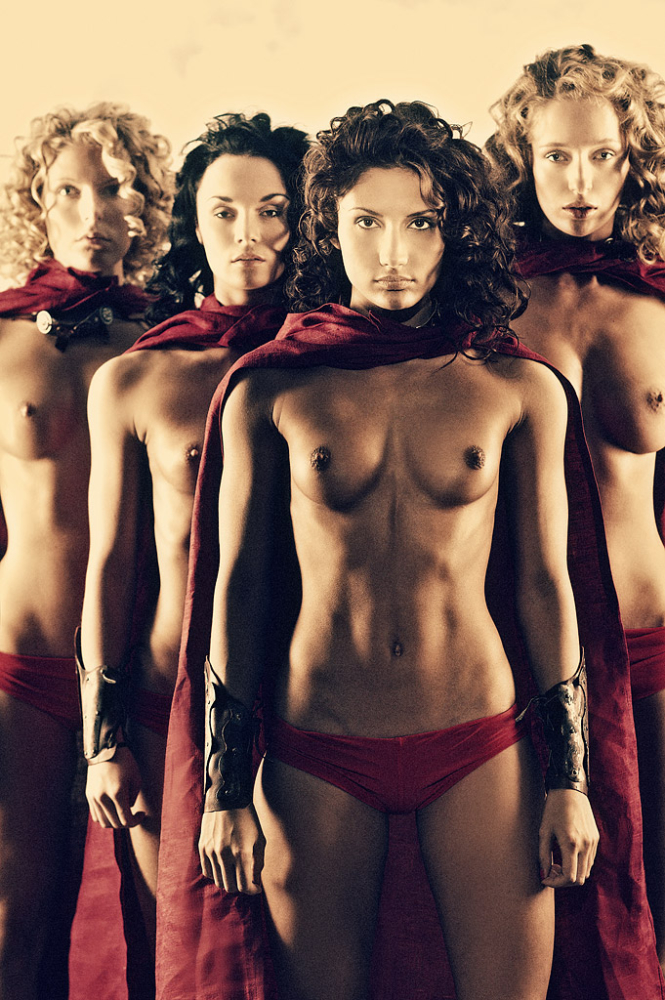 hot spartan women