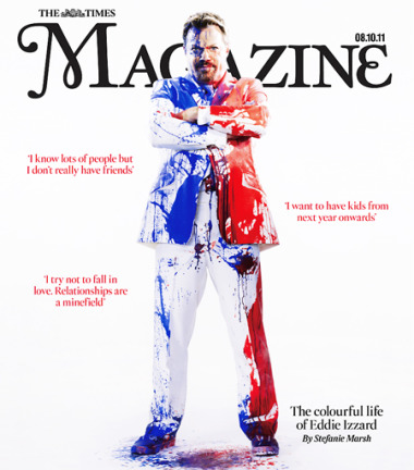 Photo: Eddie Izzard for The Times Magazine gallery