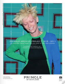 Client: Pringle of Scotland with Tilda Swinton gallery
