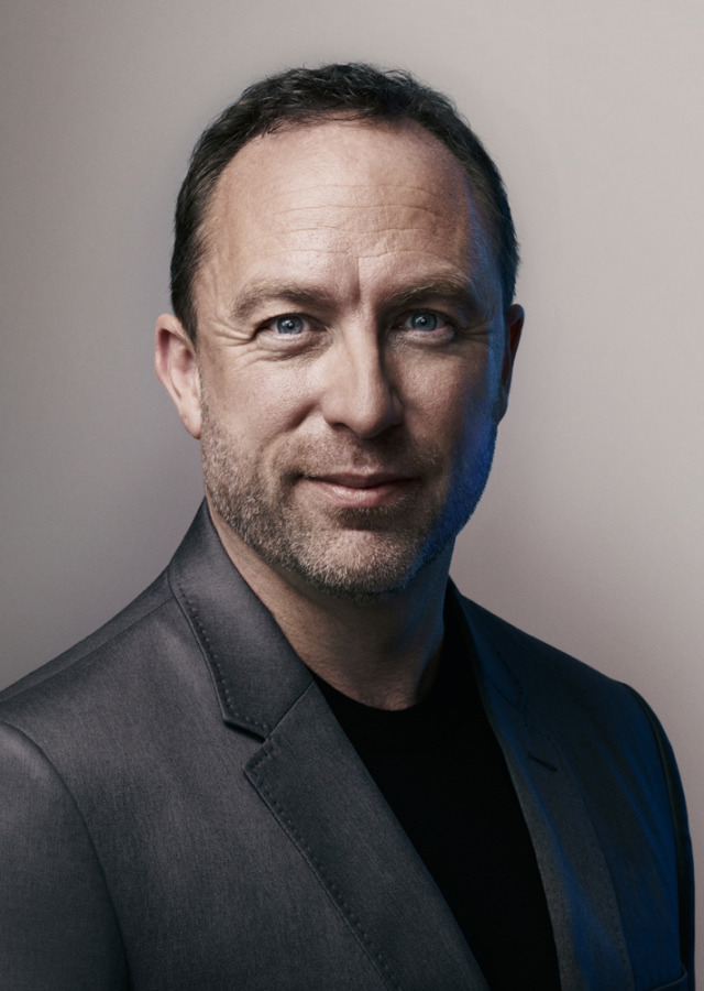 Photo: Wikipedia's Jimmy Wales by Stuart McClymont gallery