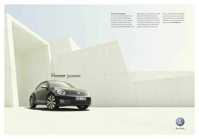 Photo: The new Beetle by Nick Meek for Volkswagen gallery