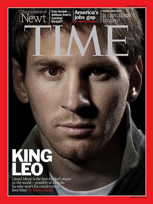 Leo Messi by Joachim Ladefoged for Time Magazine USA gallery