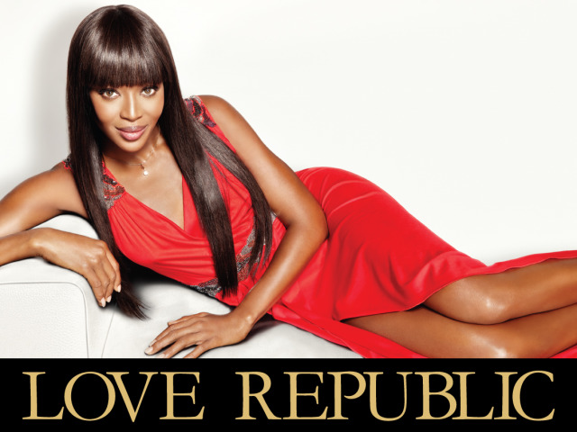 Love Republic AD Campaign with Naomi Campbell gallery