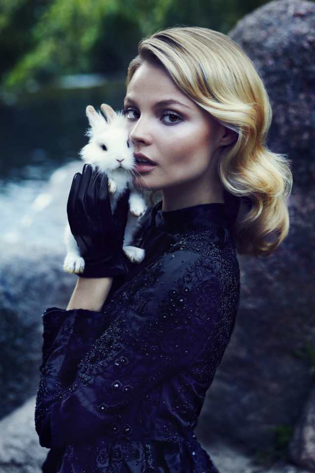Magdalena Frackowiak for PANI Magazine by Zuza and Bartek gallery