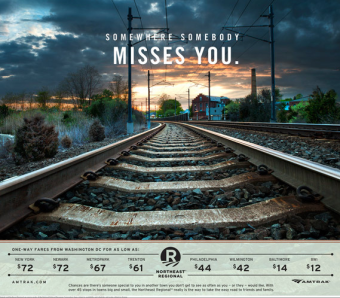 Campaign: Amtrak gallery