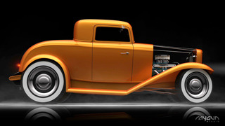 Hot Rod - CGI 4K Video Demo Loop gallery