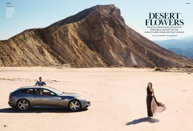 Ferrari Magazine N°17 / Fashion / Condé Nast gallery