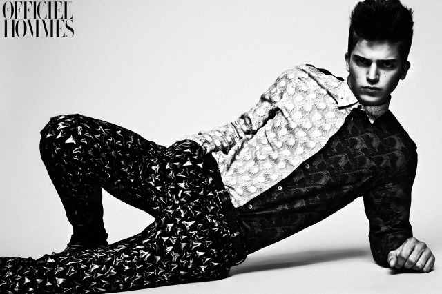 Magazine: L'Officiel Hommes Korea (river viiperi) gallery