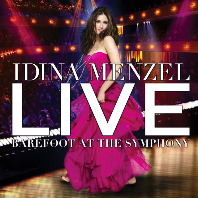 Idina Menzel CD cover. Concord Music Group  gallery