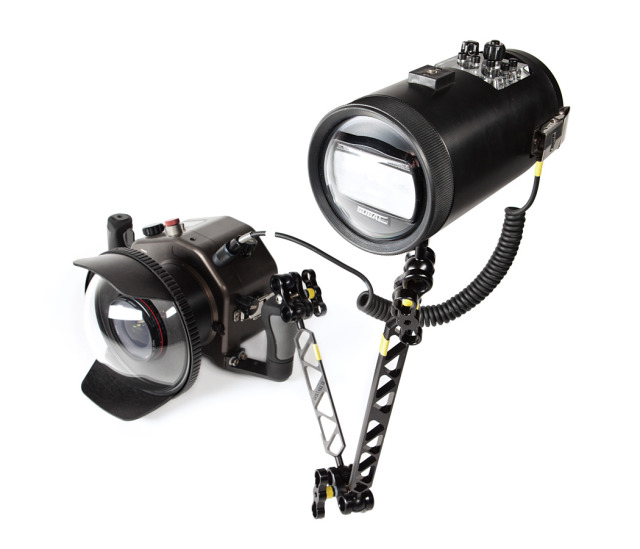 Underwater housing for Speedlight gallery