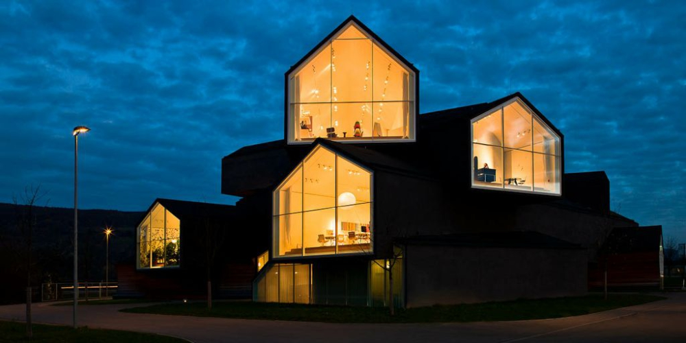Urs wys for avocado 360 interiors exteriors and for Vitra museum basel