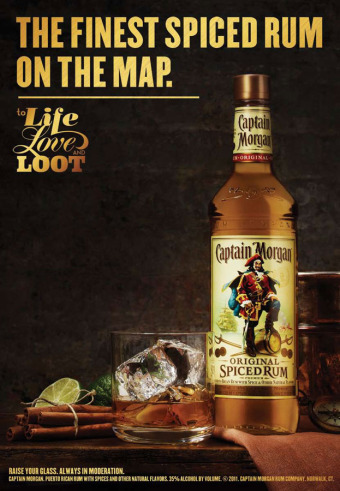 Client: Captain Morgan gallery