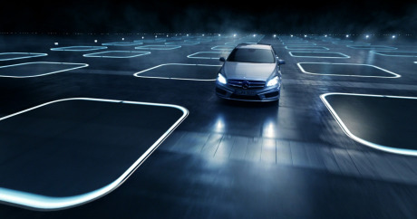 screenshot Mercedes-Benz A-Klasse Feature Films 'Keyboard' gallery