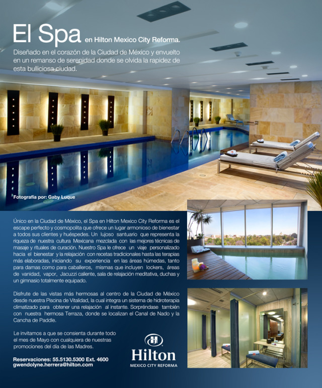 Client: Spa Hilton  Mexico City Reforma gallery