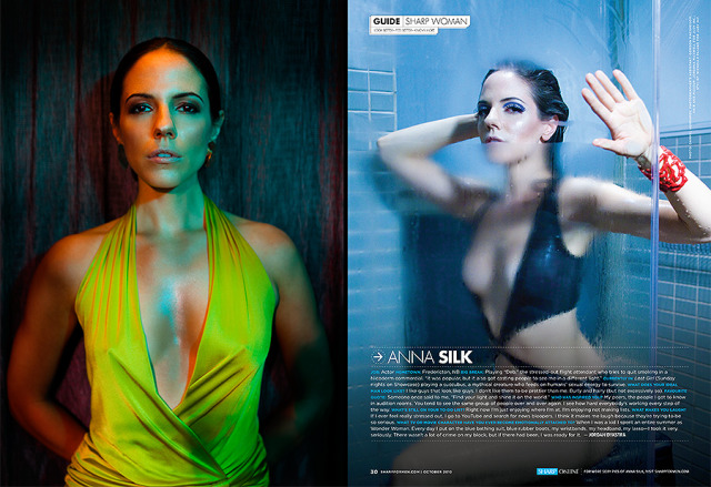 Magazine Editorial of actress Anna Silk (Lost Girl) gallery