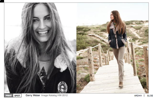 Campaign: Gerry Weber gallery
