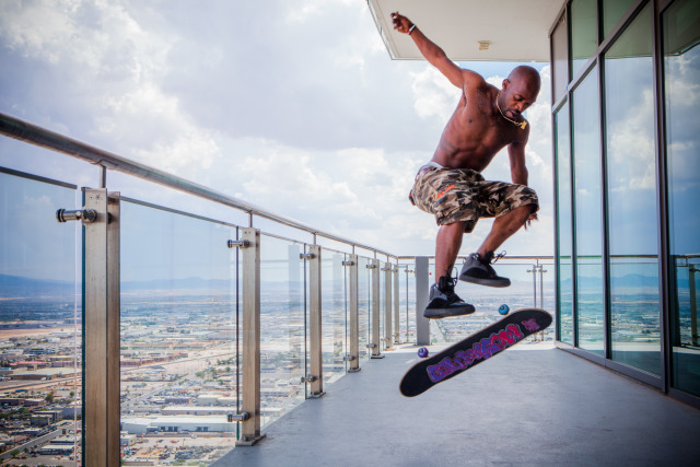 Professional Skateboarder Stevie Williams gallery