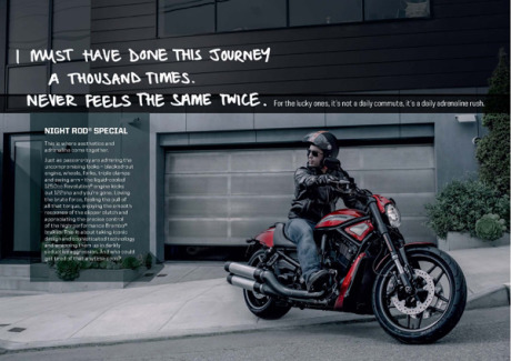 The Harley Davidson ad gallery