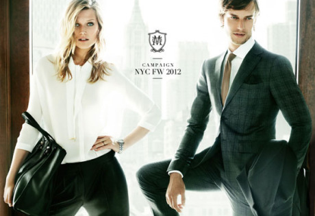 Photo: Mario Testino for Massimo Dutti 2012 gallery