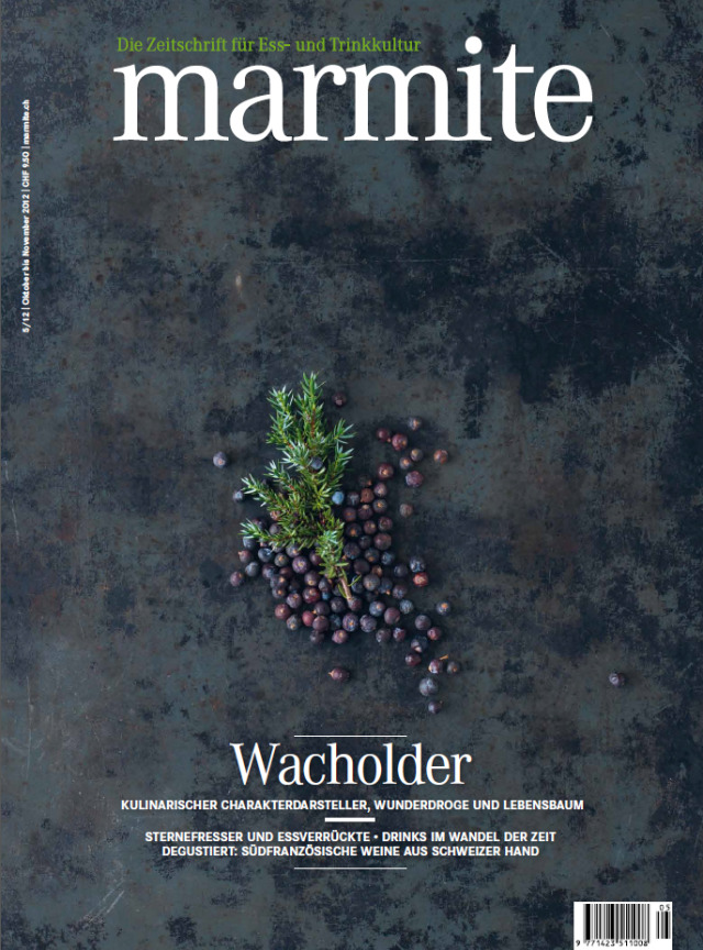 'marmite' food magazine - cover gallery