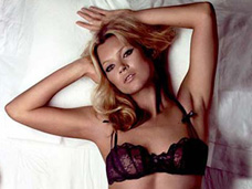 COVER IMAGE: KATE MOSS BY MIKE FIGGIS FOR AGENT PROVOCATEUR