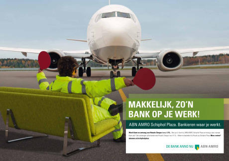 Client: ABN AMRO – Schiphol Airport gallery