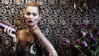 COVER IMAGE: PRODUCTION PARIS FOR SALVATORE FERRAGAMO WITH KATE MOSS