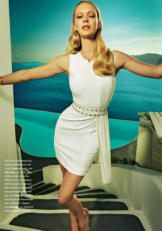 Client: Elle Germany- April '12 issue gallery
