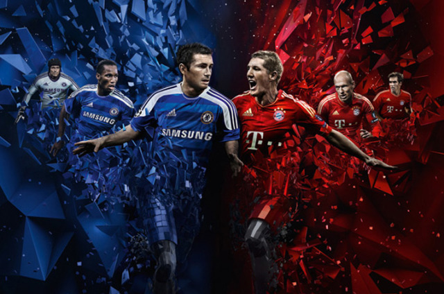 Client: Adidas 'Champions League' gallery